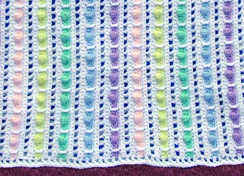 Crochet Patterns Afghan Blanket : Baby?s First Blanket Afghan Pattern Free Crochet Patterns